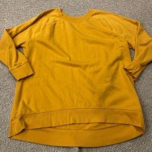 Old Navy Yellow Sweatshirt